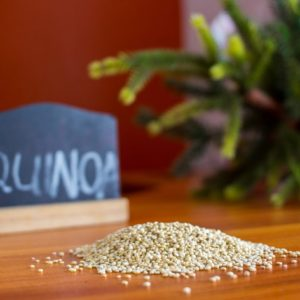 QUINOA, RICE, GRAINS