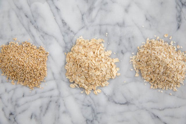 Oats – steel cut (or pinhead) v. old fashioned (rolled oats)